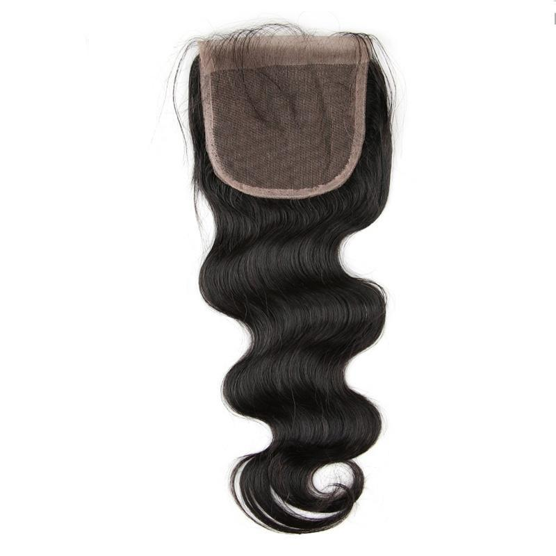 Lace Closure  Brazilian Body Wave Virgin Hair | Free Part 4*4