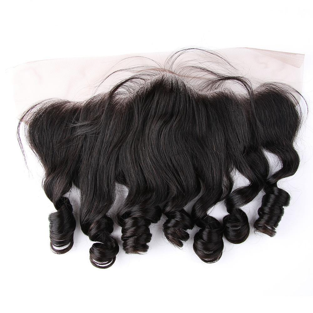 Lace Frontal Brazilian Loose Wave l 13x4 Ear to Ear | Pre Plucked | 100% Remy Human Hair | Free Part