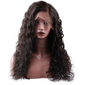 Brazilian Water Wave | Lace Front Human Hair Wigs | 250% Density | Remy Human Hair|  Pre Plucked