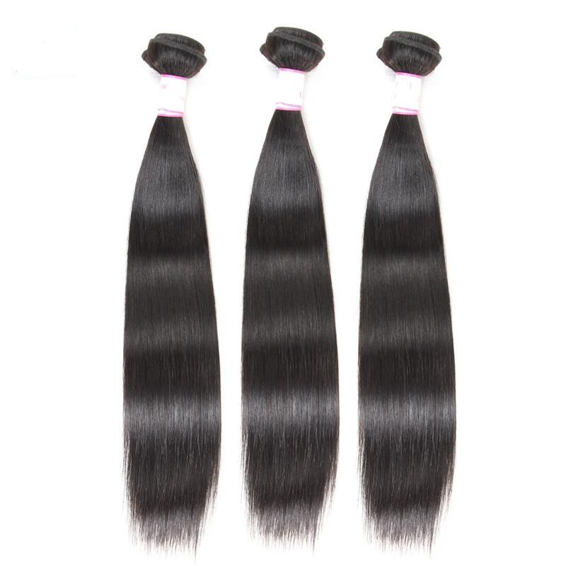 Brazilian Straight Human Hair Weave | Bundles deal