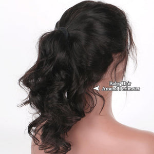 Pre Plucked 360 Lace Frontal Wig Brazilian Body Wave
