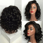 250% Density  Brazilian Remy Human Hair Wigs | Wavy | Bleached Knots  |Lace Front
