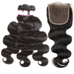 Peruvian Body Wave  Bundles With Closure