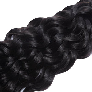 Malaysian Water Wave Human Hair | 3 Bundles