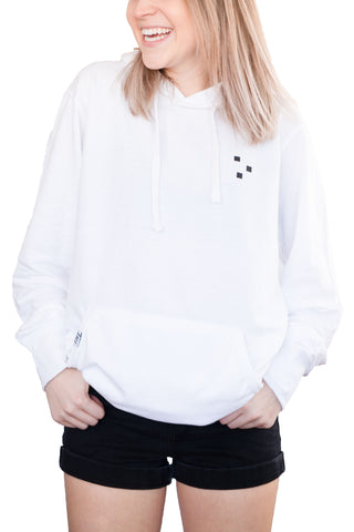 TTN White Pullover Classic Hoodie