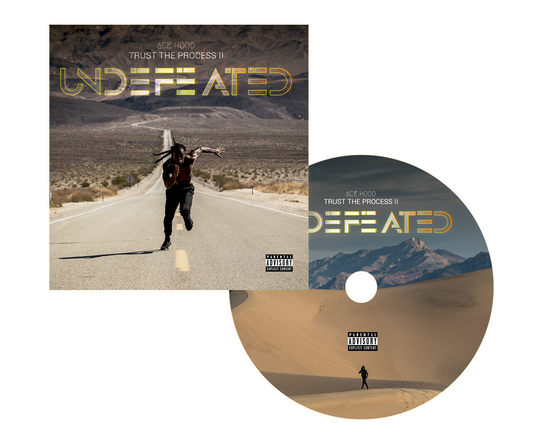 Trust the Process II - Undefeated CD