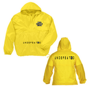 Undefeated Motivational Windbreakers
