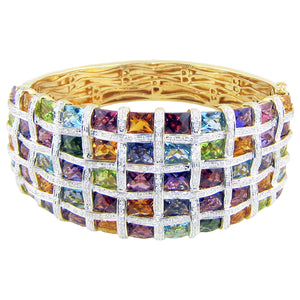 BELLARRI Mosaic - Five Row Bangle - LIMITED EDITION