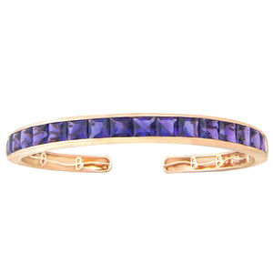 BELLARRI Eternal Love - Bangle (Rose Gold / Amethyst Gemstones)