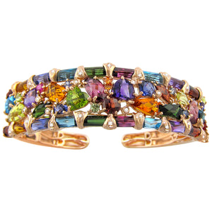 BELLARRI Marquesa - Bangle (Multi Color Gemstones)