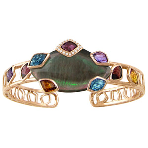 BELLARRI Aladdin Nouveau I - Black Mother of Pearl Bangle