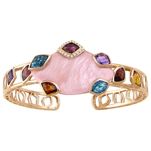 BELLARRI Aladdin Nouveau II - Pink Mother of Pearl Bangle