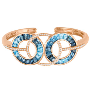 BELLARRI Malibu - Blue Topaz Bangle