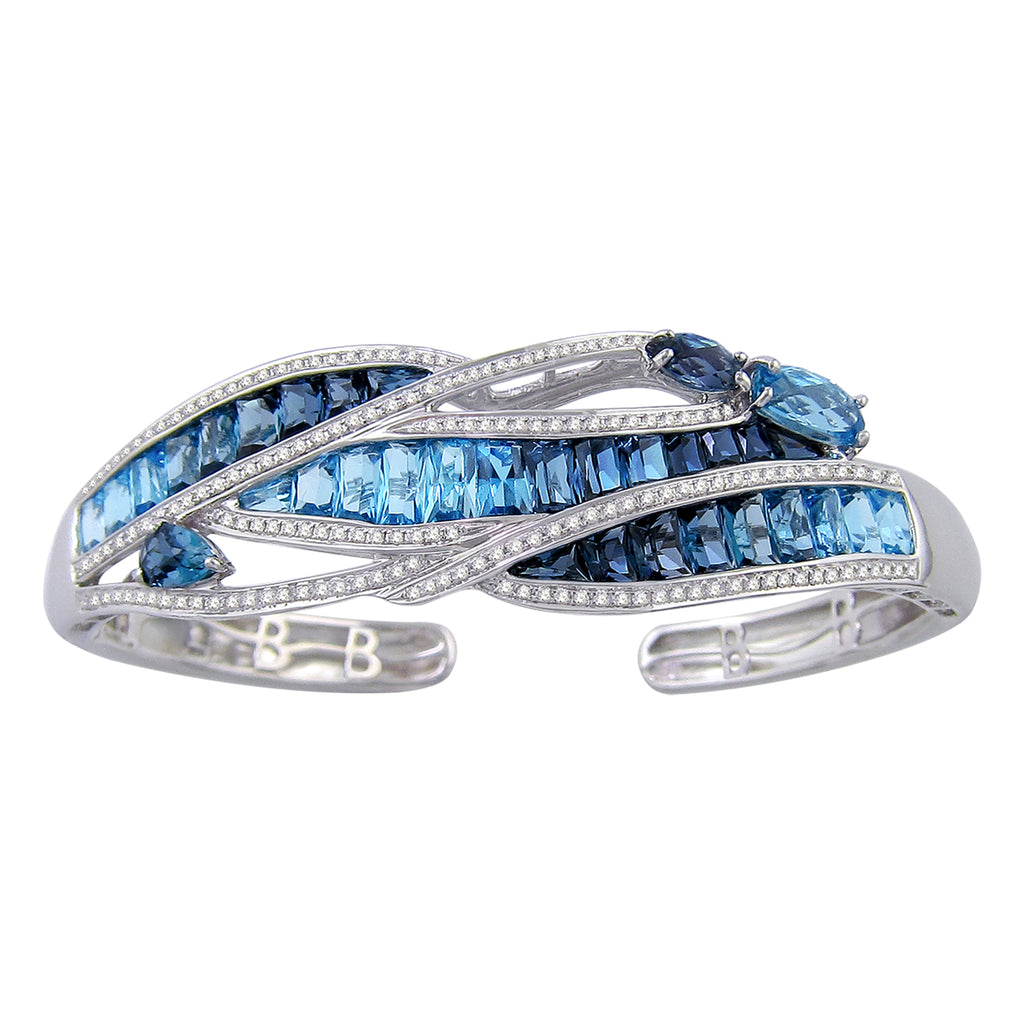 BELLARRI Capri Blue Topaz Bangle