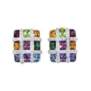 BELLARRI Mosaic Earrings