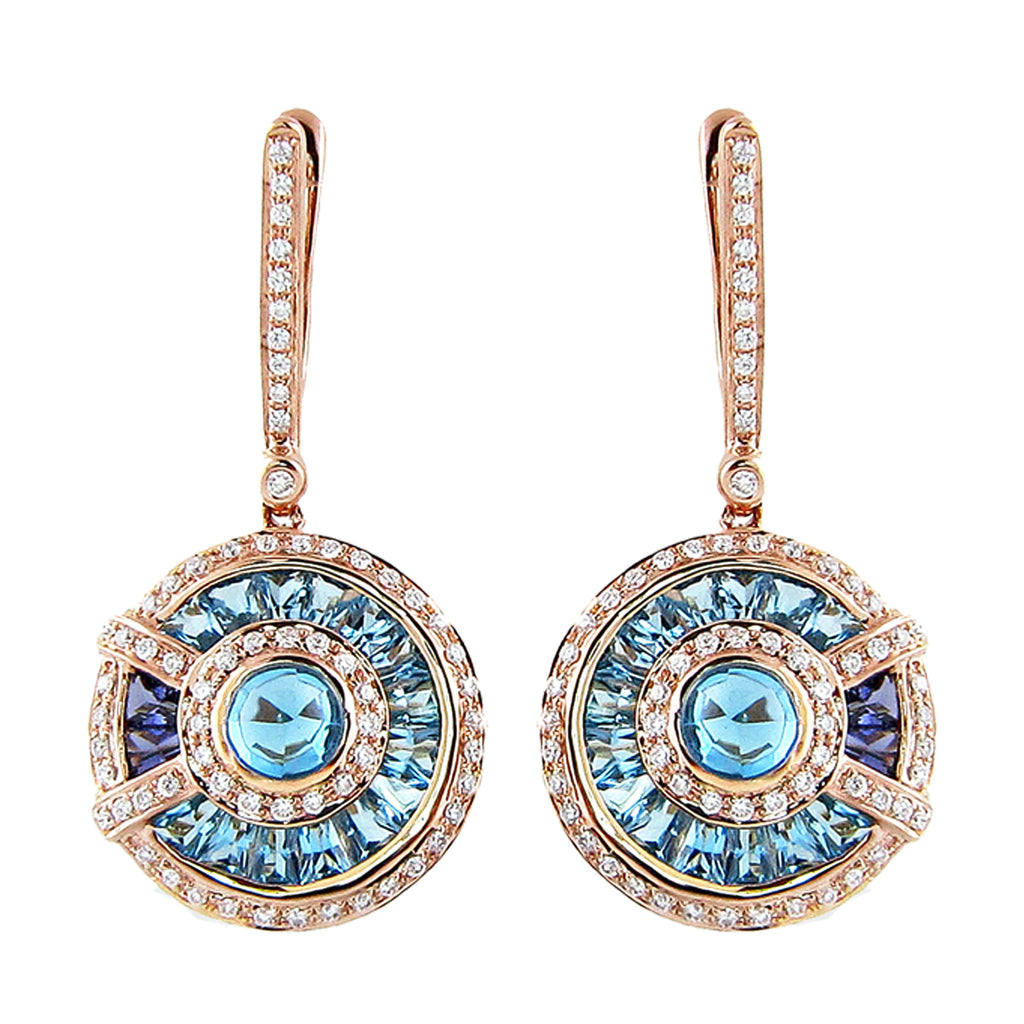 BELLARRI Circle of Love - Earrings (14kt or 18kt Rose Gold)