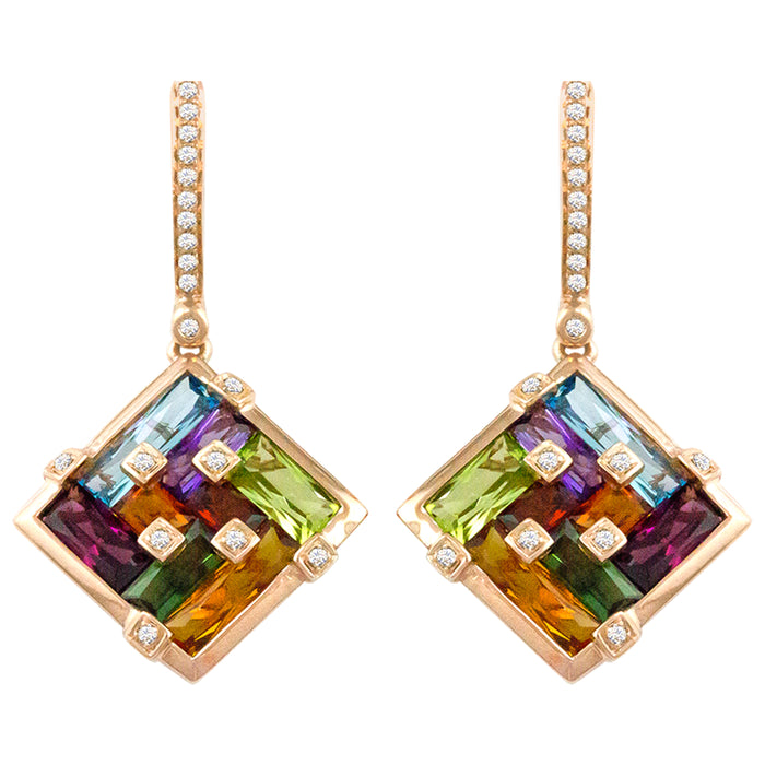 Boulevard II - Earrings