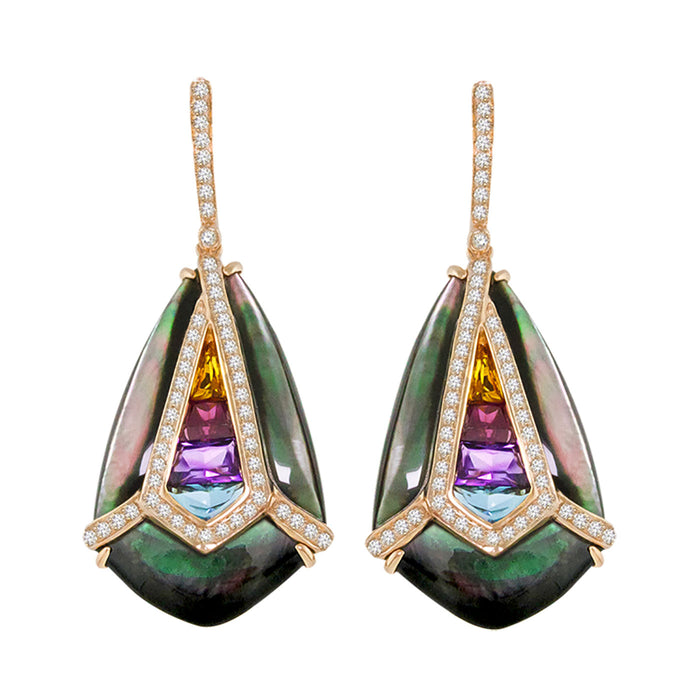 Aladdin Nouveau I - Earrings