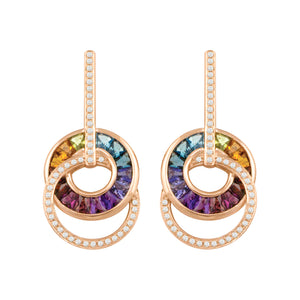 BELLARRI Malibu - Earrings (Multi Color Gemstones)