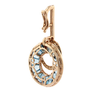 BELLARRI Poetry in Motion - Enhancer (Rose Gold & Blue Topaz) back view