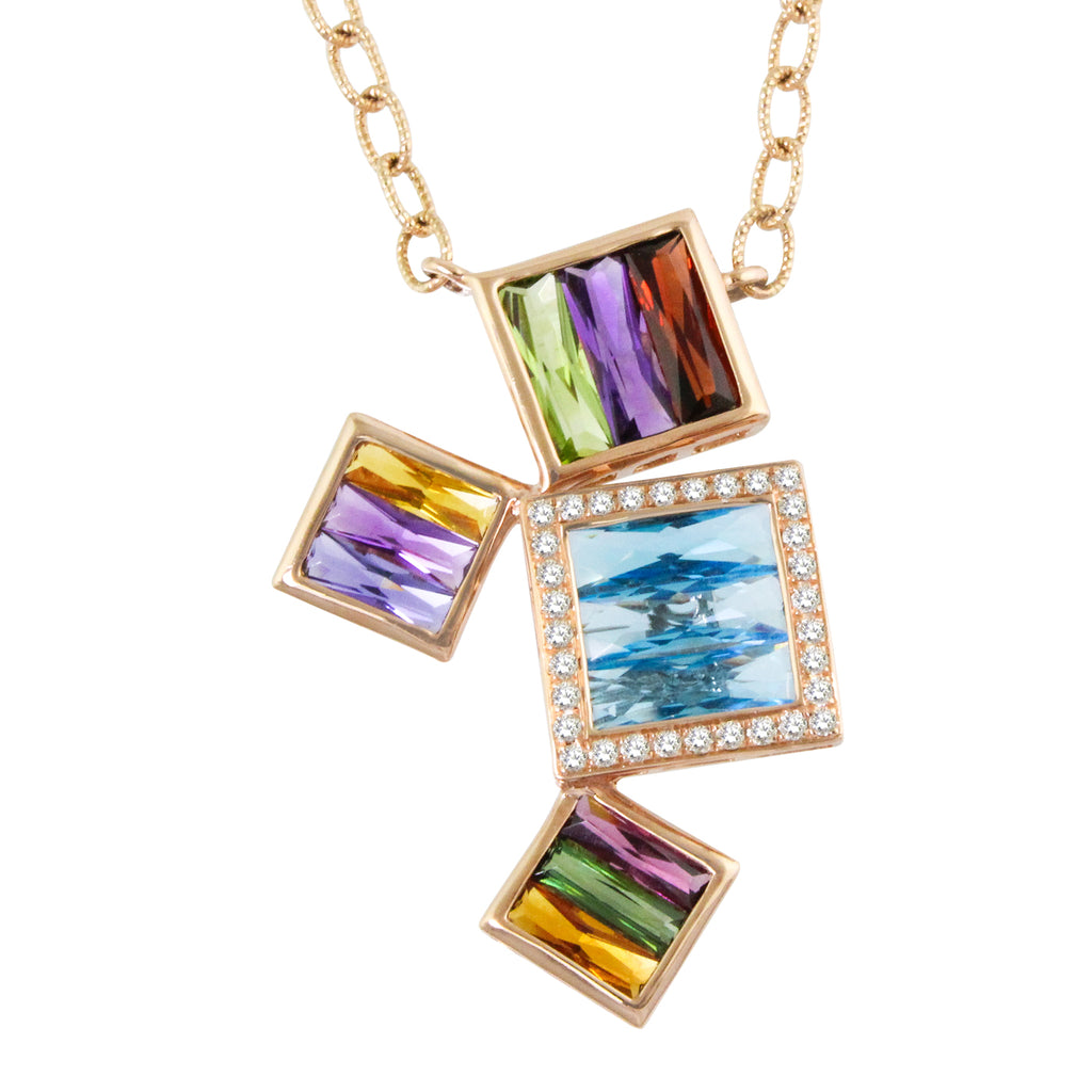 BELLARRI Rhapsody - Necklace (Pendant approximately 30mm height x 14mm at widest point)
