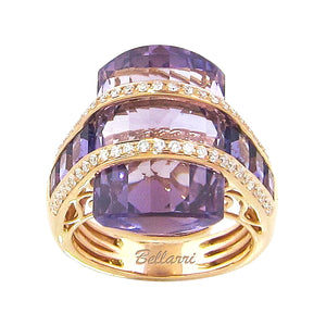 BELLARRI Tango Ring - Limited Edition (Rose Gold / Amethyst)