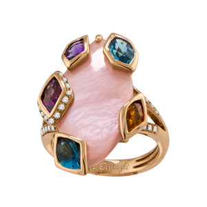 BELLARRI Aladdin Nouveau II - Pink Mother of Pearl Ring