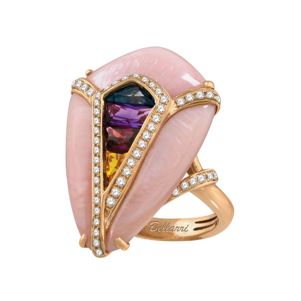 BELLARRI Aladdin Nouveau I - Pink Mother of Pearl Ring