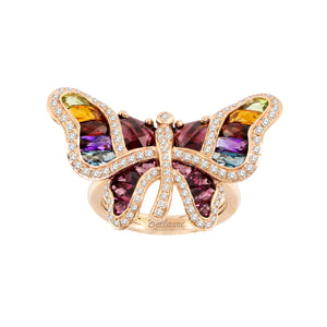 BELLARRI Madame Butterfly - Ring (Multi Color Gemstones)
