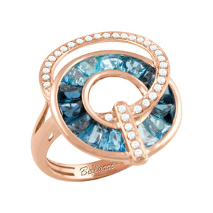 BELLARRI Malibu - Blue Topaz Ring