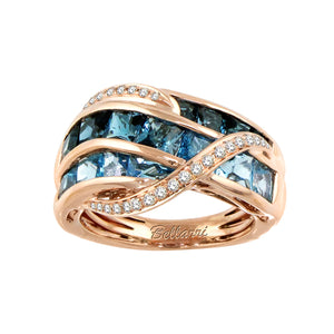 BELLARRI Capri - Blue Topaz Ring