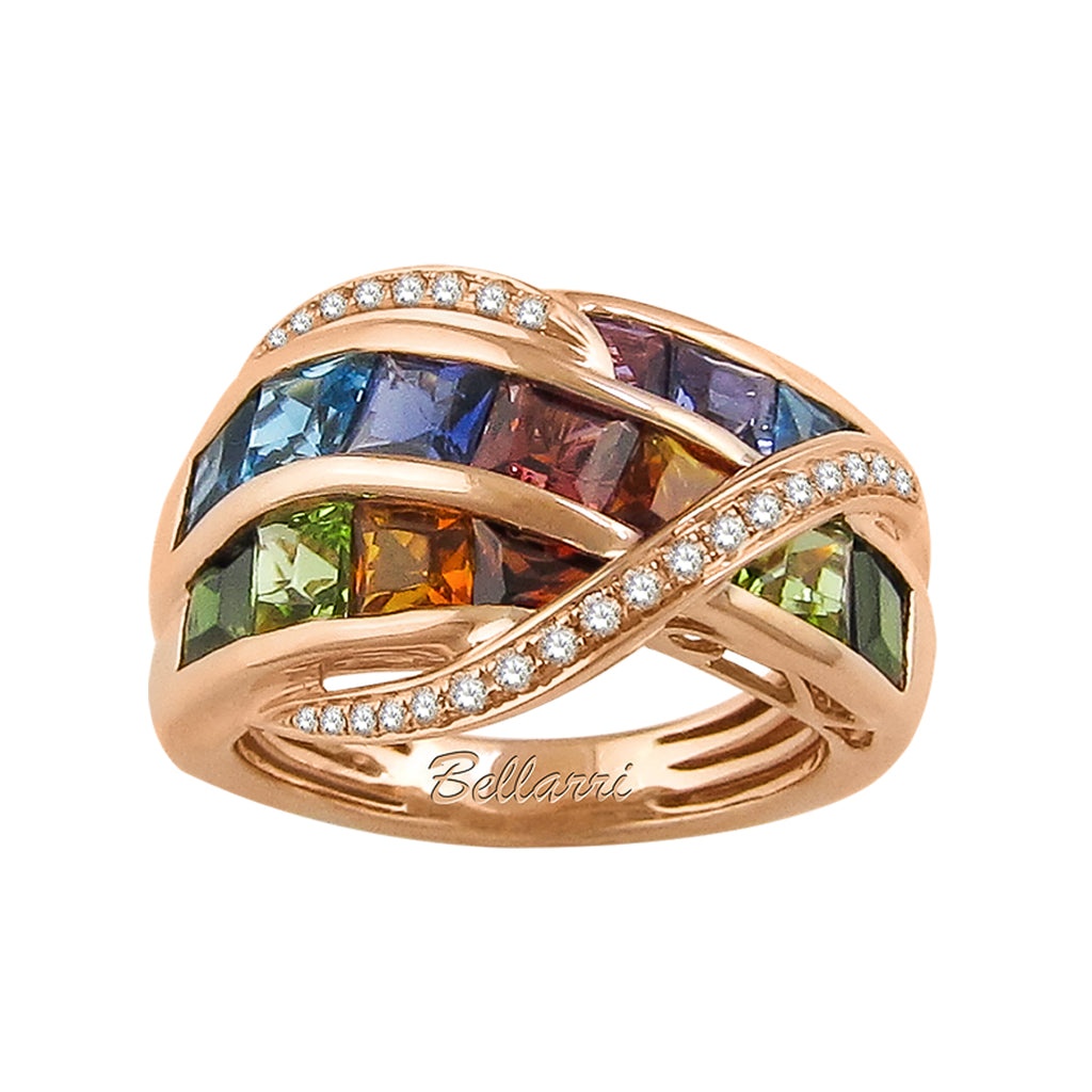 BELLARRI Capri - Multi Color Ring, multi color gemstones