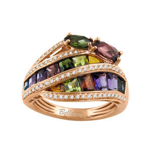 BELLARRI Capri - Multi Color Ring