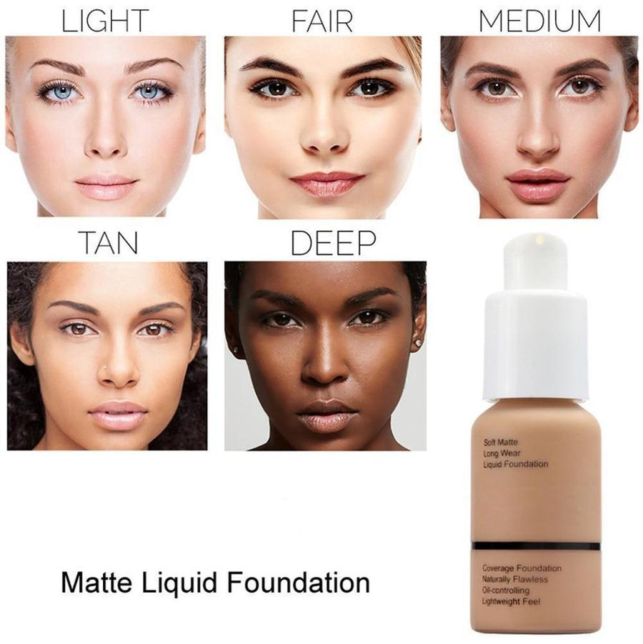 Flawless Matte Liquid Foundation - Candyhousehold