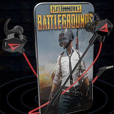 3.5MM Port In-ear Gaming Headset With Microphone For PUBG (BUY 2 FREE SHIPPING) - Candyhousehold