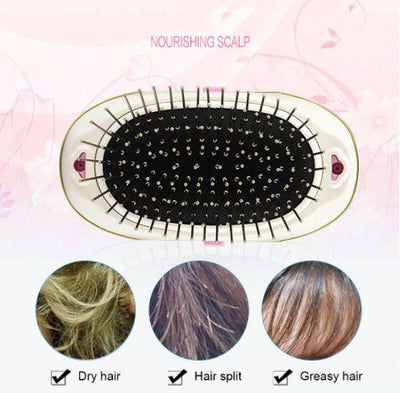 Electric Ionic Styling Hairbrush - Candyhousehold