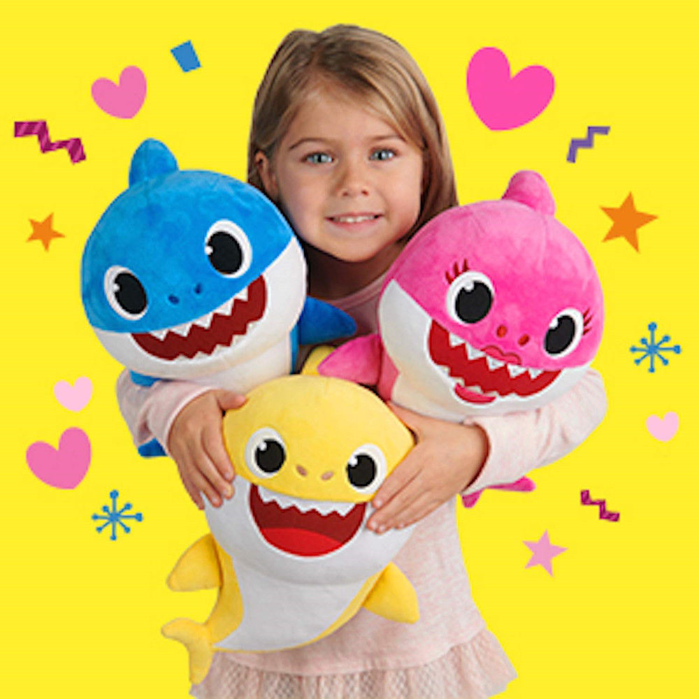 [#1 hottest toy] Funny Singing Shark Plush Toy - Candyhousehold