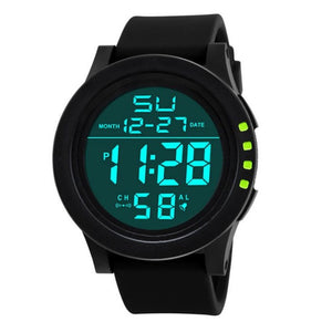 HONHX Men Sports Watches Men Outdoor LED Digital Watch Light Mutifunction Wristwatches For Men Reloj Hombre Montre Homme #63