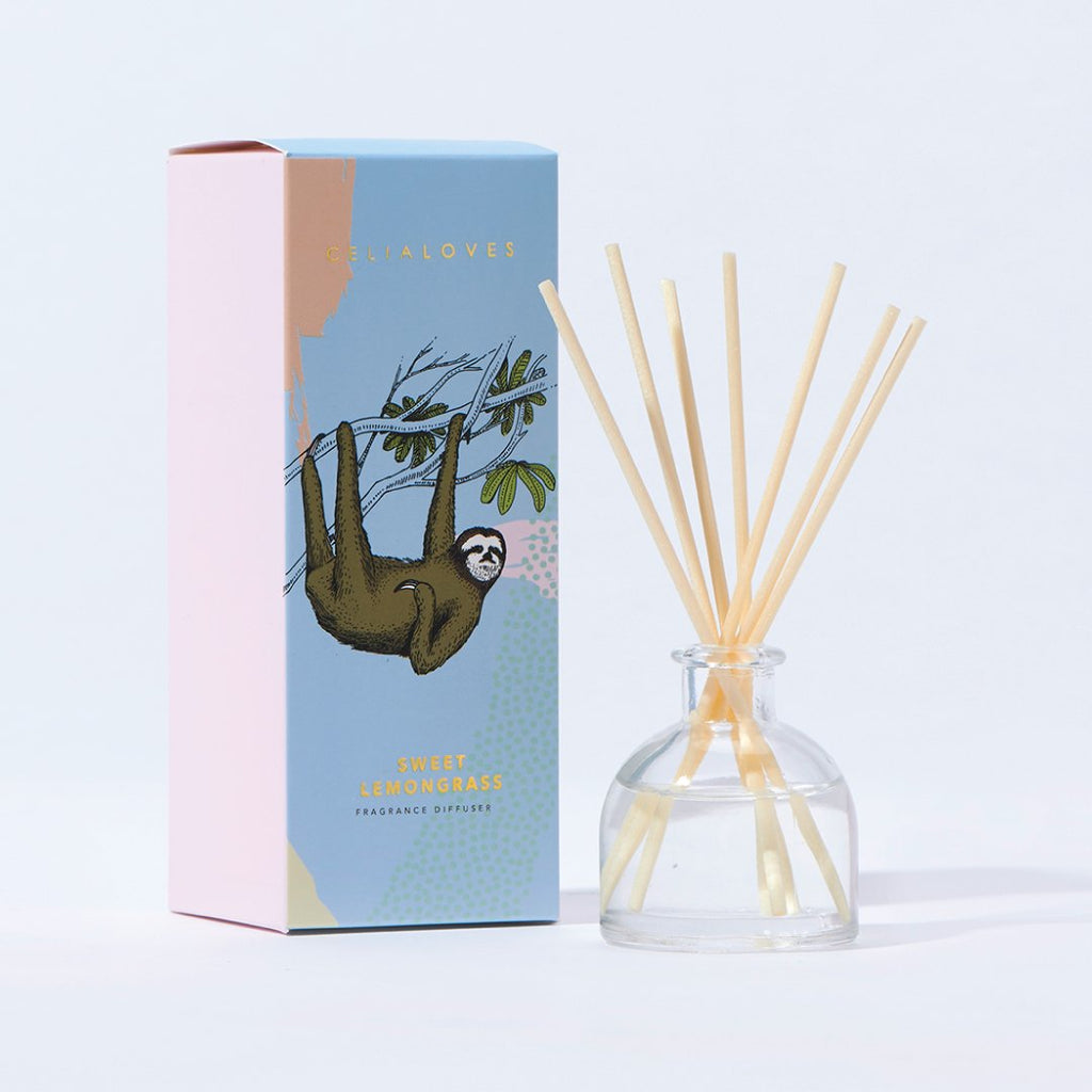 Sweet Lemongrass Mini Reed Diffuser