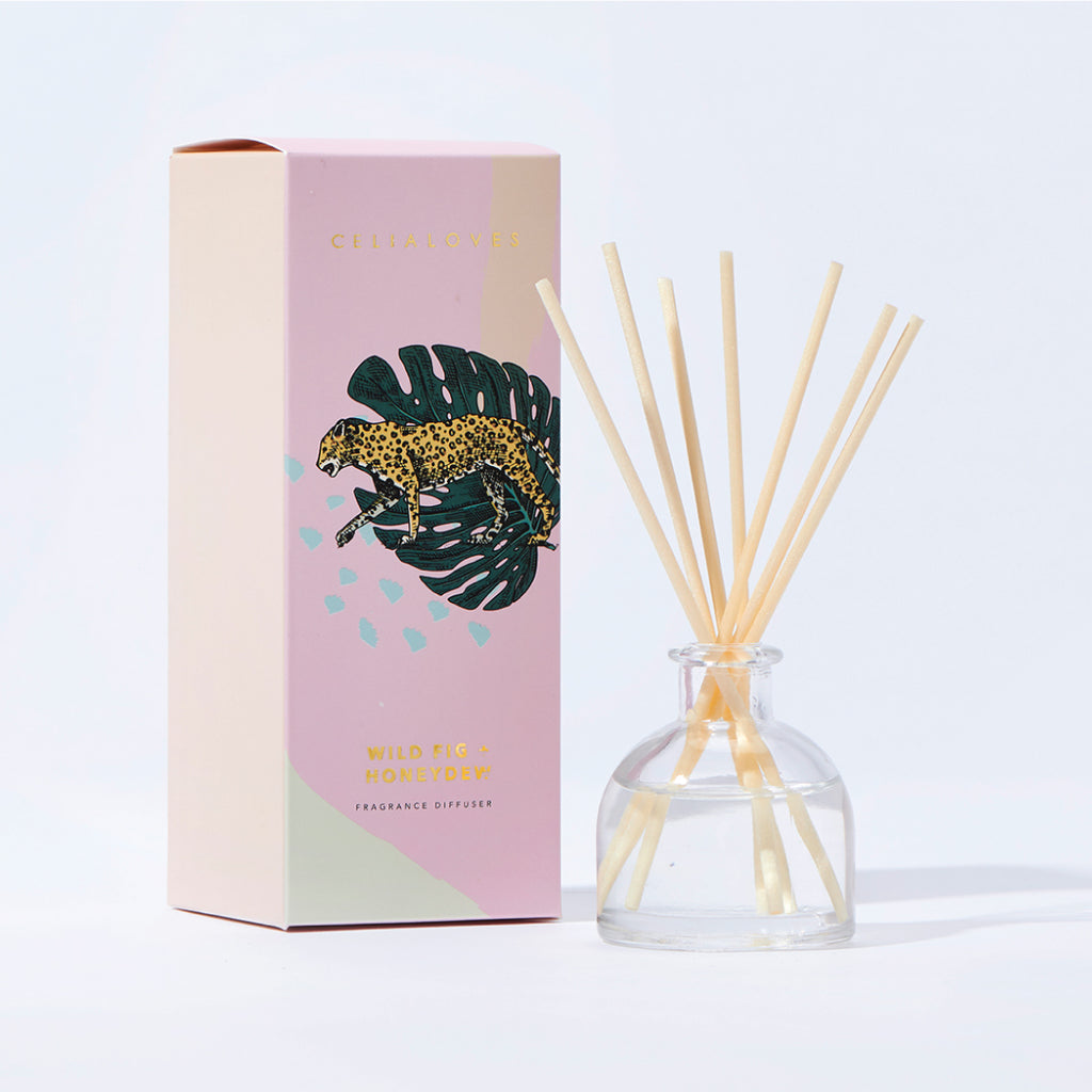 Wild Fig + Honeydew Mini Fragranced Diffuser
