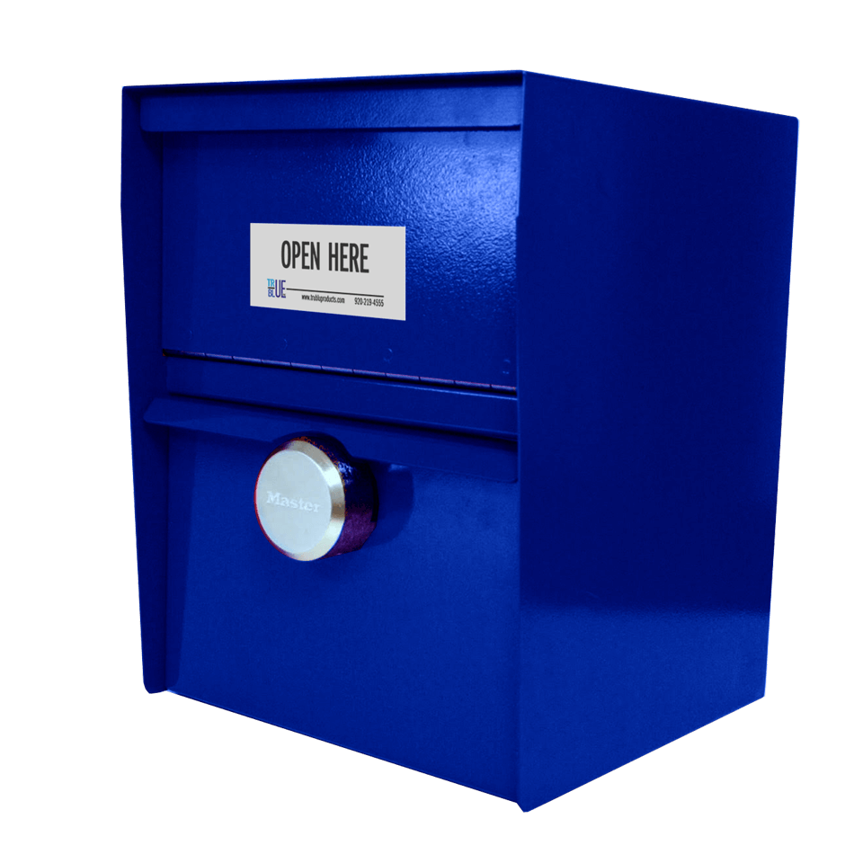 Large Secure Unmanned Locking Drop Box