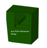Anti-Phish Design of Secured Unmanned Locking Drop Box
