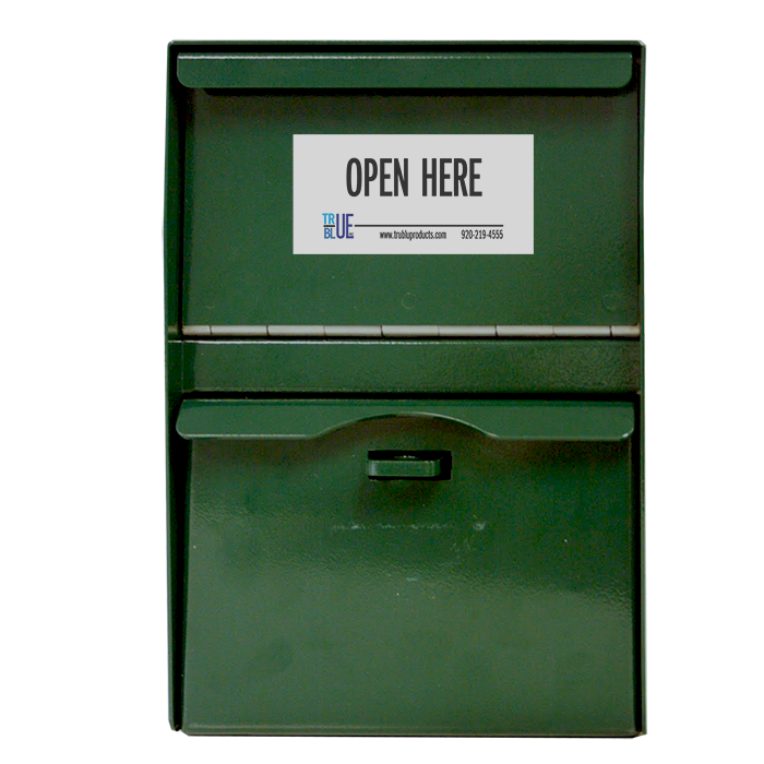 Secure Locking Drop Box 12 - Forest Green