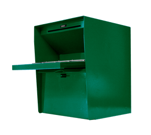 Opened Large Secure Unmanned Locking Drop Box