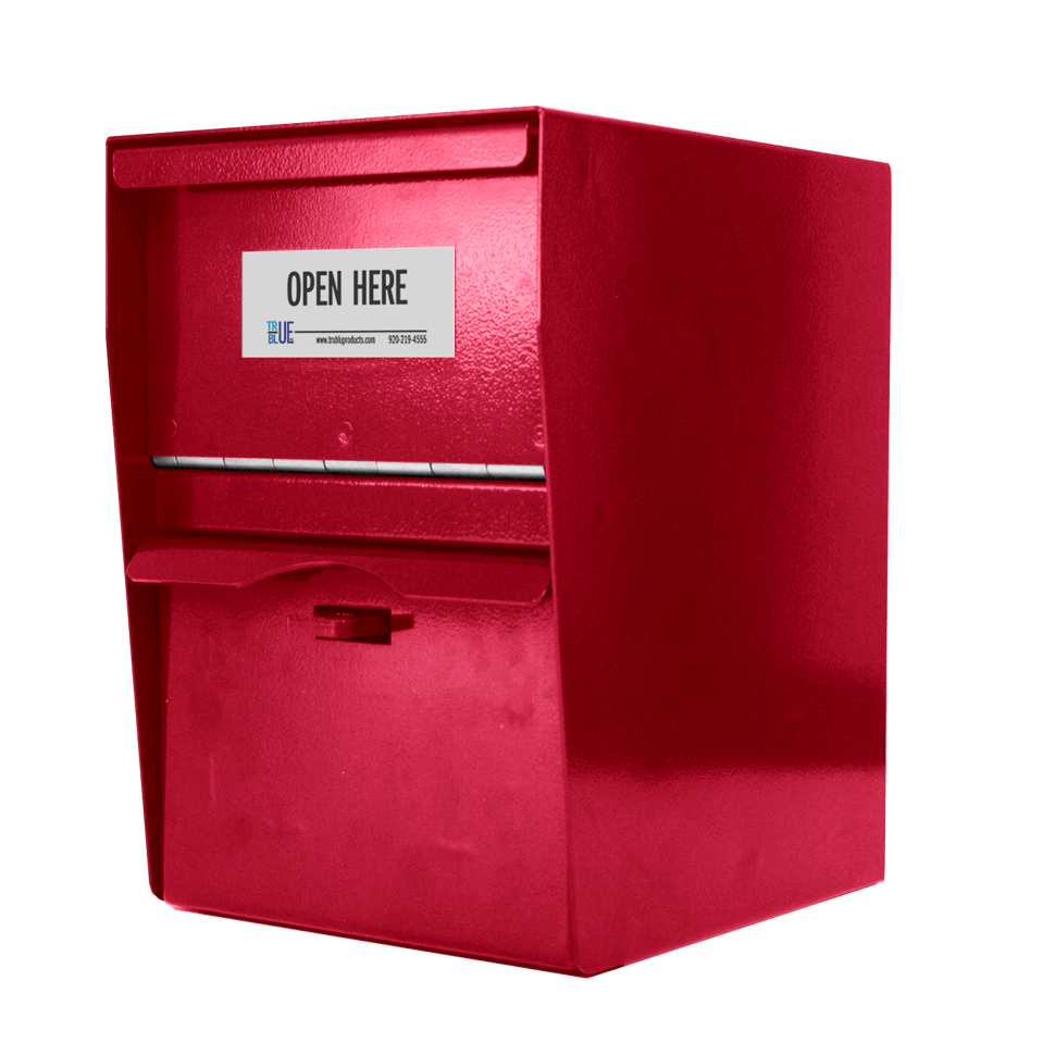 Small Secure Unmanned Locking Drop Box