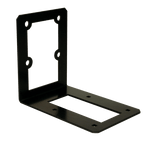 wall-mount bracket for secure locking drop boxes large and small