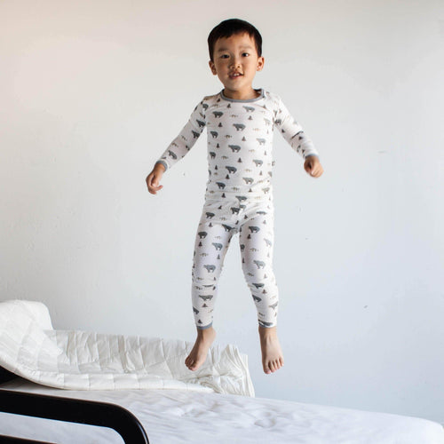 Toddler Chores, Pajamas, Jumping on the Bed