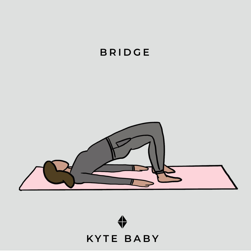 bridge pose pregnancy