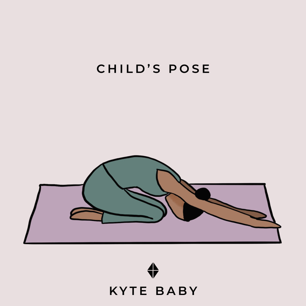 child's pose pregnancy