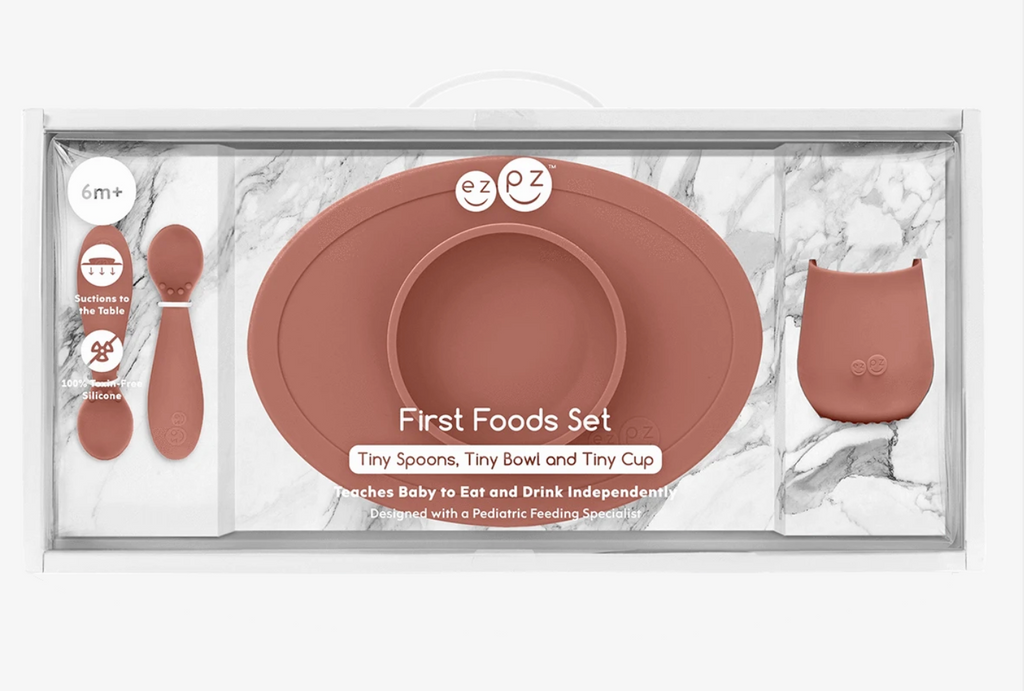 EZPZ Silicone Food Set